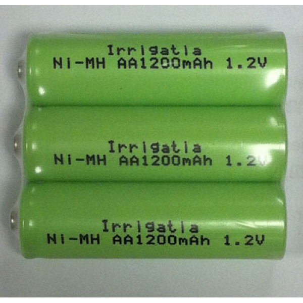 Pack of 3 x AA  rechargeable batteries for use with C & K series controllers